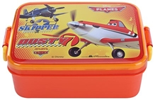 Disney Pixar Planes Skipper And Dusty Lunch Box Orange