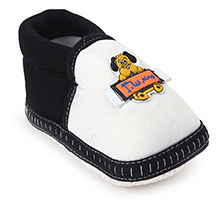 Little's - Black And White Fancy Booties
