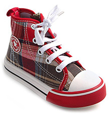 Cute Walk - Check Print Canvas Shoes