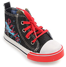 Cute Walk - Casual Lace Up Canvas Shoes