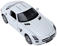 Welly Mercedes Benz SLS AMG - White
