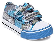 Cute Walk - Check Print Canvas Shoes