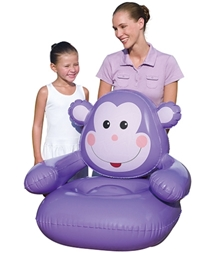 Bestway - Little Monkey Inflatable Chair Purple