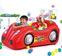 Bestway - Race Car And Game Ball Combo Red