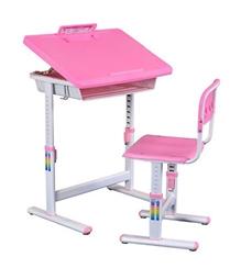 Playwell - Adjustable Study Table Pink