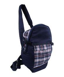 Fab N Funky 2 Way Rucksack Baby Carrier - Navy Blue