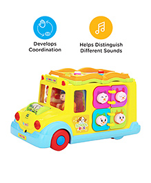 Mee Mee - Intelligent School Bus Toy