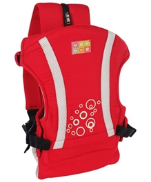 Mee Mee - Bubble Print Four Way Baby Carrier Red
