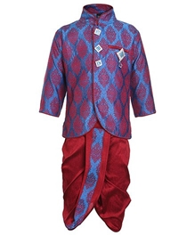 Baby Hug - Ethnic Wear Kurta And Dhoti Set Blue
