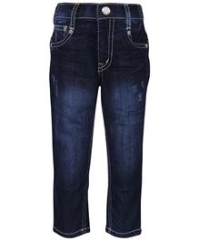 Gini & Jony - Stone Wash Pattern Jeans