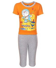 Doraemon - Favorite Game Print Night Suit