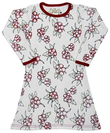 Earth Conscious - Printed Full Sleeves Frock