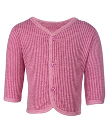 Moms Pet - Full Sleeves Thermal Shirt Dark Pink