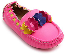 Doink - Ballerina Party Slip On With Flower Embellishment
