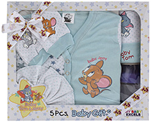 Tom & Jerry - Baby Gift Set Of 5 Pieces Blue