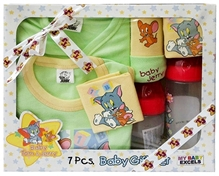 Tom & Jerry - Baby Gift Set Of 7 Pieces Red