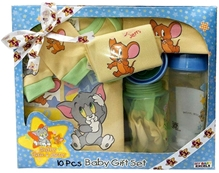 Tom & Jerry - Baby Gift Set Of 10 Pieces Yellow