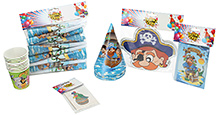 Themez Only Birthday Party Kit Pirate Themed Party Favors