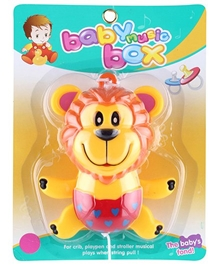 Fab N Funky - Lion Shape Baby Music Box Toy Yellow