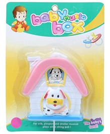 Fab N Funky - Hut Shape Baby Music Box Toy White