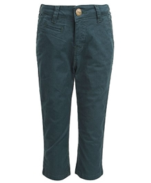 Gini & Jony - Fixed Waist Full Length Trouser Blue