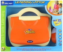 Fab N Funky - Little Angel Learning Laptop Orange