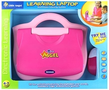 Fab N Funky - Little Angel Learning Laptop Pink