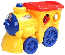 Fab N Funky - Blocks In Engine Shape Case Blue