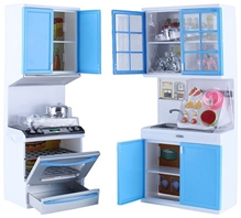 Fab N Funky - Modern Kitchen Set Blue