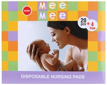 Mee Mee - Premium Disposable Nursing Pads 20 Pieces With 4 Free