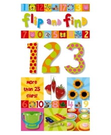 Make Believe Ideas Ltd - Flip And Find 123 With 25 Flaps