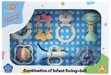 Fab N Funky - Combination Of Infant Swing Bell Set Of 7