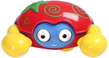 Fab N Funky - Battery Operated Scurry Sideways Crab Toy Red