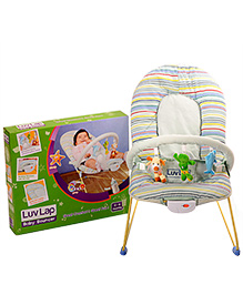 Luv Lap - Sunshine Baby Bouncer 8043T Blue