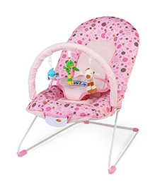 Luv Lap - Sunshine Baby Bouncer 8043T Pink