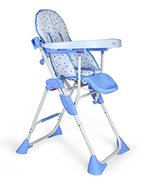 Luv Lap - Comfy Baby High Chair 8083 Blue