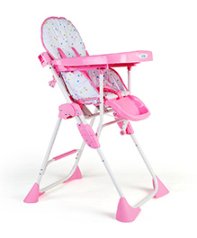Luv Lap - Comfy Baby High Chair 8083 Pink