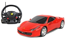 Rastar Ferrari 458 Italiya With Steering Wheel Controller