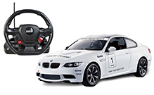 Rastar BMW M3 With Steering Wheel Controller Car - 6 Years+