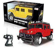 Rastar - Hummer H 1 SUV Remote Controlled Car - 3 Years+