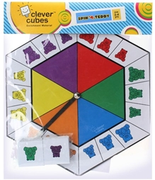 Clever Cubes - Spin A Teddy Game