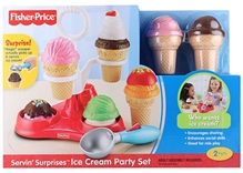 Fisher Price - Servin Surprises Ice Cream Party Set