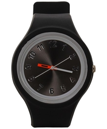Fab N Funky - Kids Watch With Dial Black