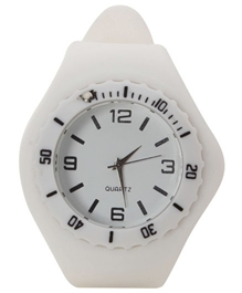 Fab N Funky - Kids Analog Watch White
