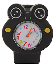 Fab N Funky - Kids Watch Frog Shape Black