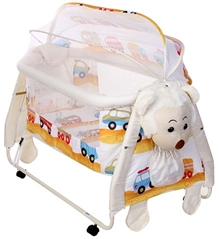 Mee Mee - Cradle with Monkey Design