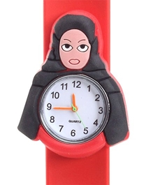 Fab N Funky - Kids Watch Doll Shape Red