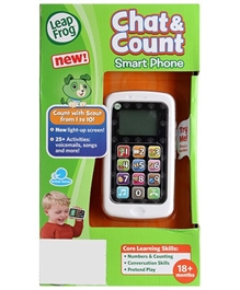 Leap Frog - Chat And Count Smart Phone Toy White