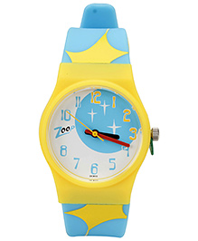 Titan Zoop Abstract Print Analog Watch Blue - 21.5 cm