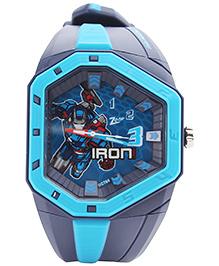 Titan Zoop - Blue Ironman Hexagon Dial Analog Wristwatch Blue